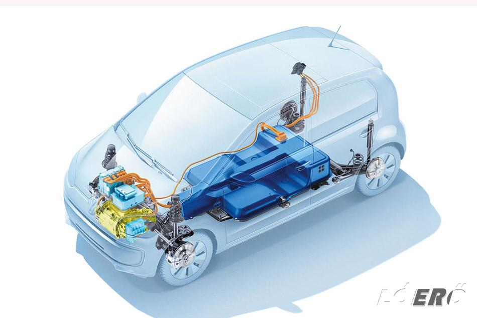 Volkswagen e-Up akkumulátor helyszükséglete miatt hátul ugyan nem lehet terpeszkedni, de elférni azért igen, és még a csomagtartója is elfogadható, ami 251 literes, nem kisebb, mint a sima, benzinmotorosé.