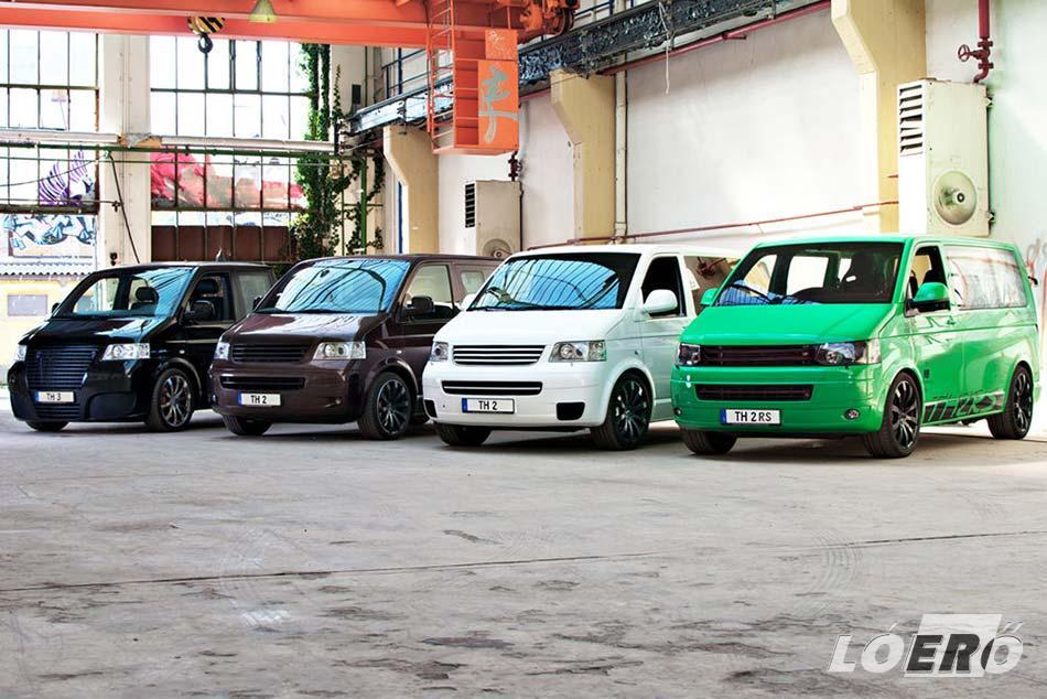 Volkswagen kisbuszok brutális teljesítménnyel.