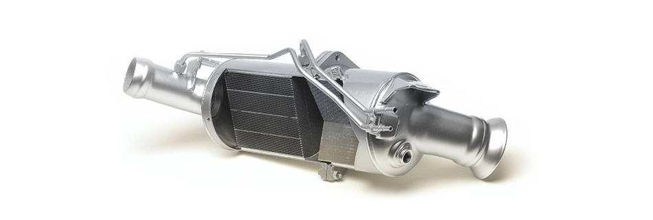 A Diesel Particulate Filter, azaz a dízel részecskeszűrő.