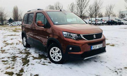 A méretek bajnoka – Peugeot Rifter 1.5 BlueHDI teszt