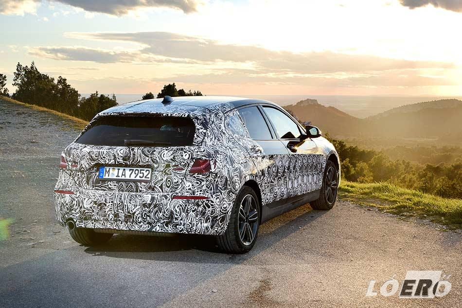 A tervek szerint az új BMW 1-es 2019-es piaci bevezetése kora őszre várható.