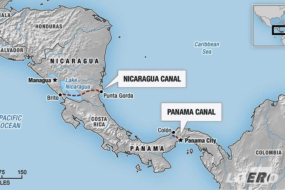 Miután az Egyesült Államok bedobta a nagy hírt, hogy Nicaragua területére szintén egy csatornát kíván építtetni, a befektetők feladták. Végül 1914-re az USA felügyelete alatt fejeződött be a Panama-csatorna építése.