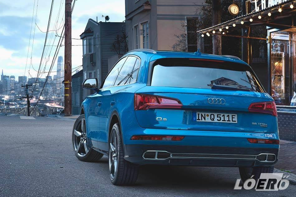 Audi Q5 plug-in hybrid valahol 20 millió környékén alakulhat majd a magyarországi kereskedésekben.
