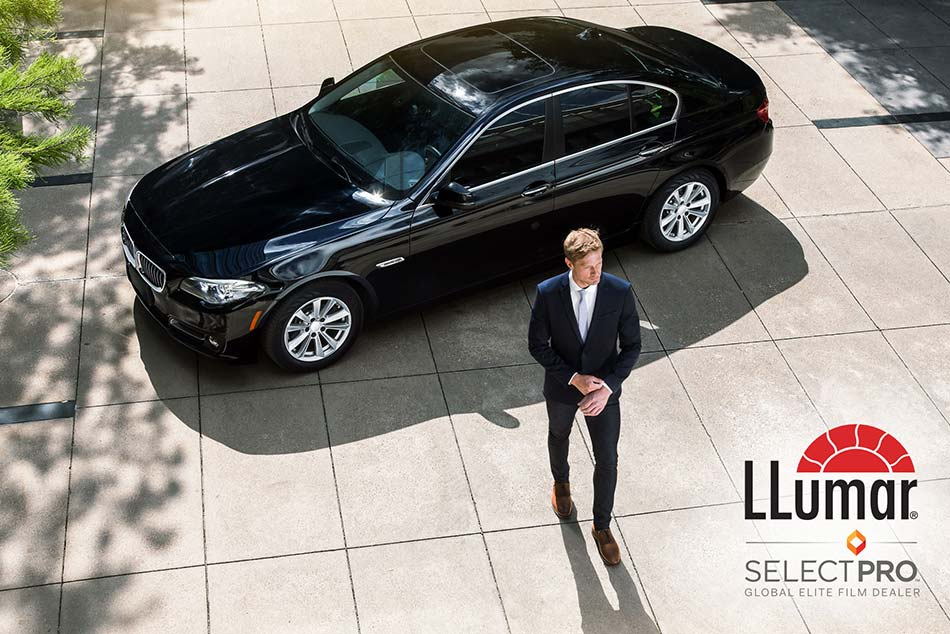 Minőségi autófóliázás a LLumar SelectPro program keretein belül.