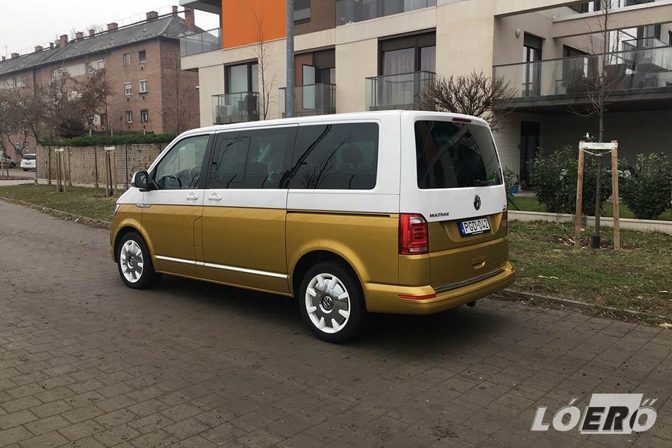 Tény, hogy a Volkswagen T6 Multivan Bullijával nehéz észrevétlen maradni.