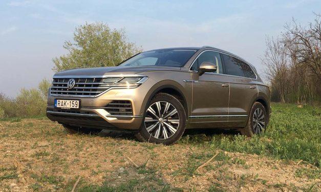 A népautók luxusa – Volkswagen Touareg 3.0 V6 TDI teszt