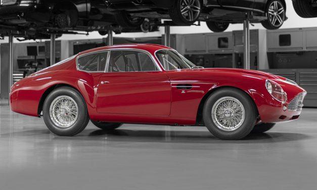 Teremtés – Aston Martin DB4 Zagato