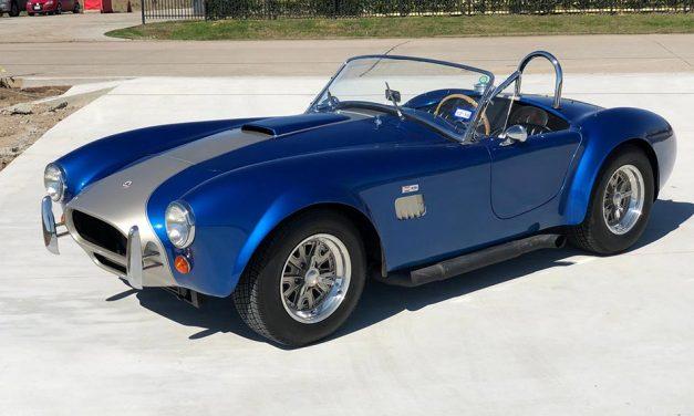 Tökéletes illúzió – Ford Cobra 1964