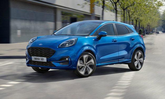 Jön az új Ford Puma – Crossover lett a kis kupé