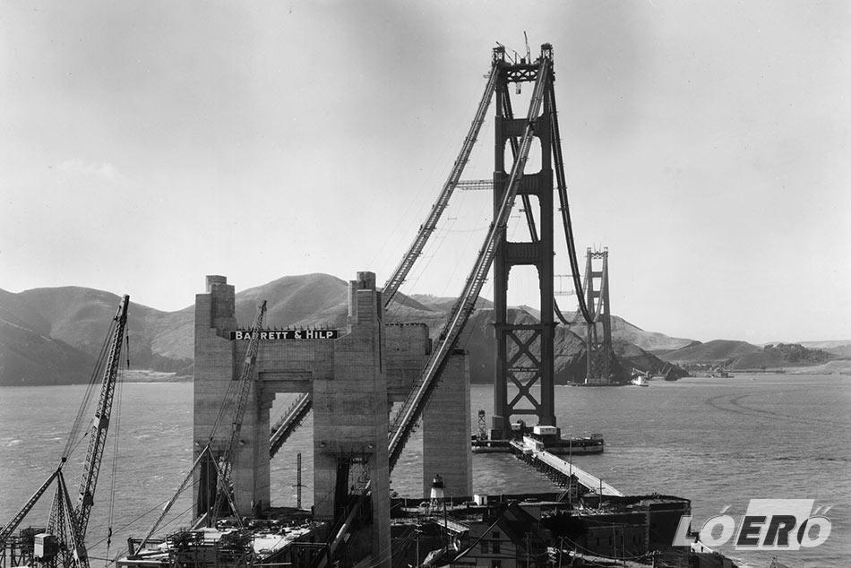 A Golden Gate híd építése amellett, hogy komoly költsége volt, egyáltalán nem volt veszélytelen feladat a benne részvevő munkások számára.