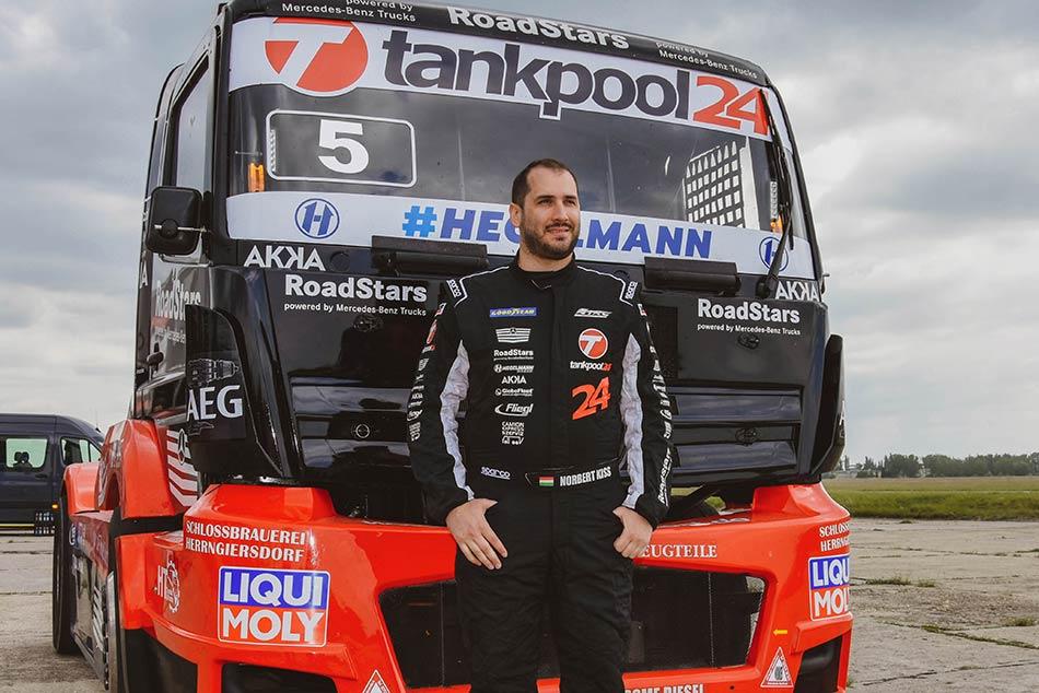 Kiss Norbert kamionversenyző interjú 40502