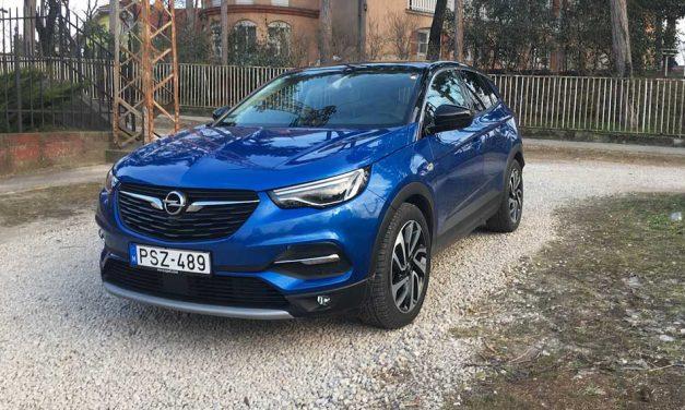 Német íz, francia fűszerekből – Opel Grandland X Ultimate teszt