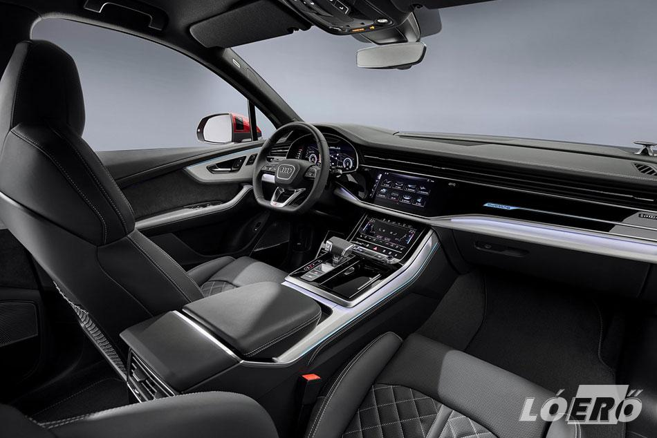 Akárhonnan is nézzük, az új Audi Q7 2019-ben is rendben van kívül, belül…