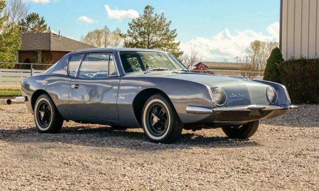Beteljesületlen álom – Studebaker Avanti 1962
