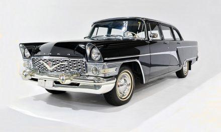 A történelem sirálya – A Csajka autó 1959