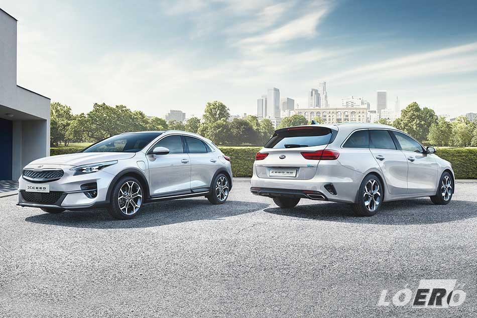 A Kia Ceed plug-in hybridek 2020-tól elérhetőek lesznek már az új XCeed crossover változatában és kombi kiadásban egyaránt.