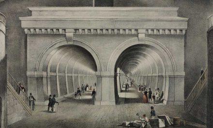 A világ első víz alatti alagútja – Thames Tunnel London