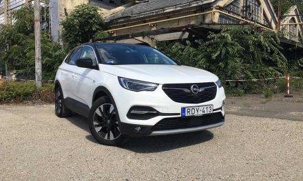 Nem kell ennél több – Opel Grandland X 1.5 Diesel teszt
