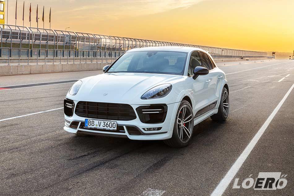 A 2.0 literes kis Porsche terepjáró is megcsinálja erőlködés nélkül a 6.3 másodperces a 0-100-as gyorsulást.