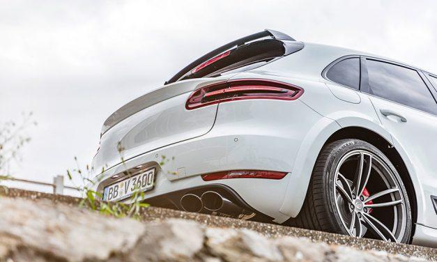 Megvadult a kisebbik terepjáró – Porsche Macan turbo