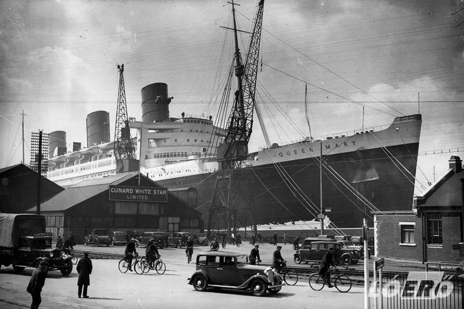 A Queen Mary 1 a hajózás története szempontjából csak a világháború kitörésének napján kezdte igazán beírni magát a könyvekbe.