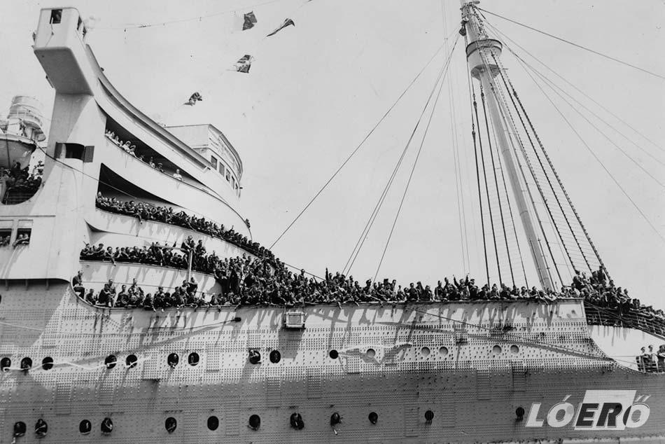 A Szürke Kísértet néven elhíresült óceánjáró több tízezer embert szállított katonai céllal a világháború idején.