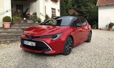 Egy jó fazon, némi belső hibával – Toyota Corolla 2.0 Hybrid e-CVT teszt
