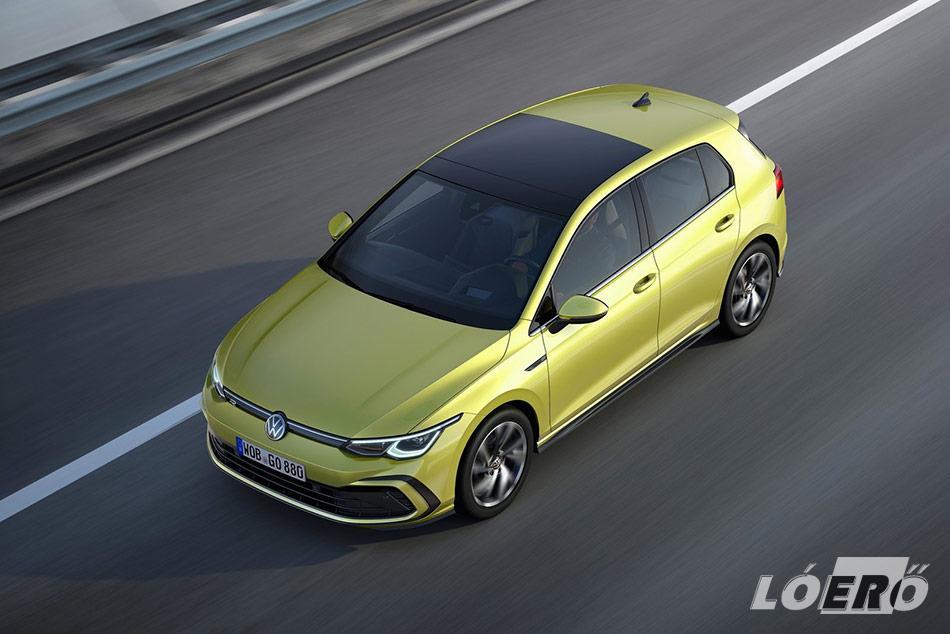 A 2020-ban érkező Volkswagen Golf 8-as már egyértelműen a zöldebb technológiákra tette le a voksát.