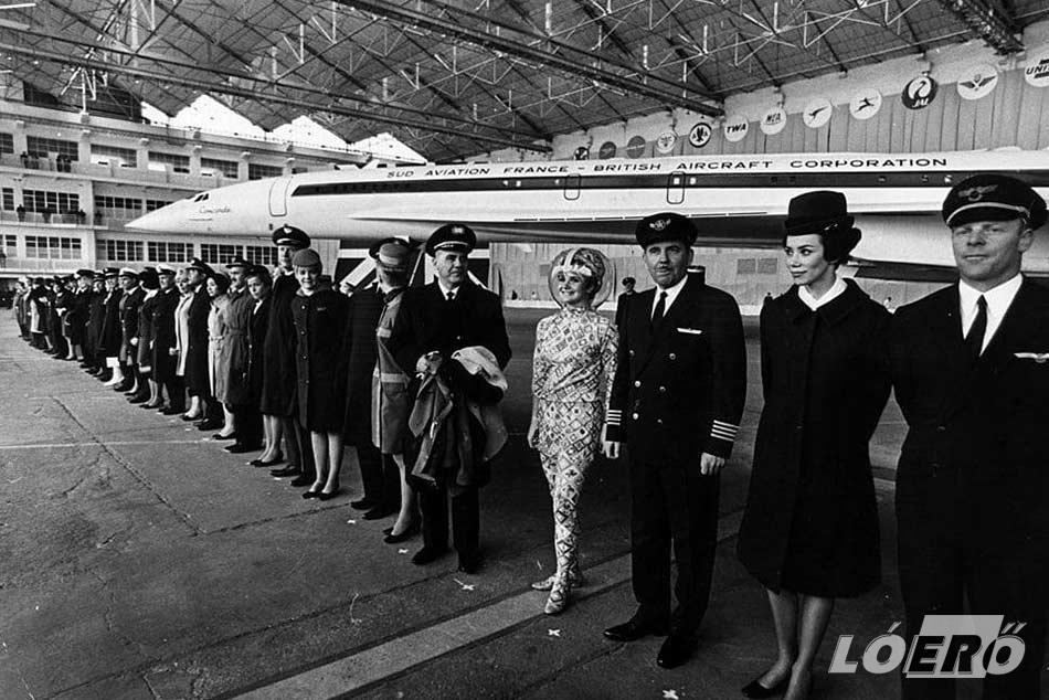 A Concorde személyzetét egytől egyig a szakma legjobbjai alkották. Akár az Air France, akár a British Airways esetében megtisztelésnek számított ebbe az elitbe bekerülni.