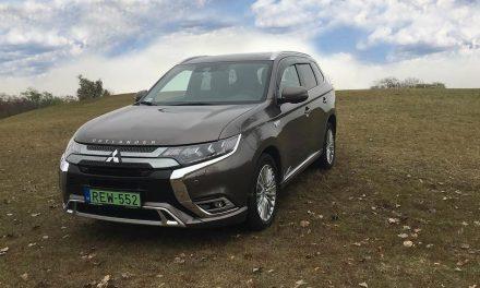 A konnektoros – Mitsubishi Outlander 2.4 PHEV 4WD teszt
