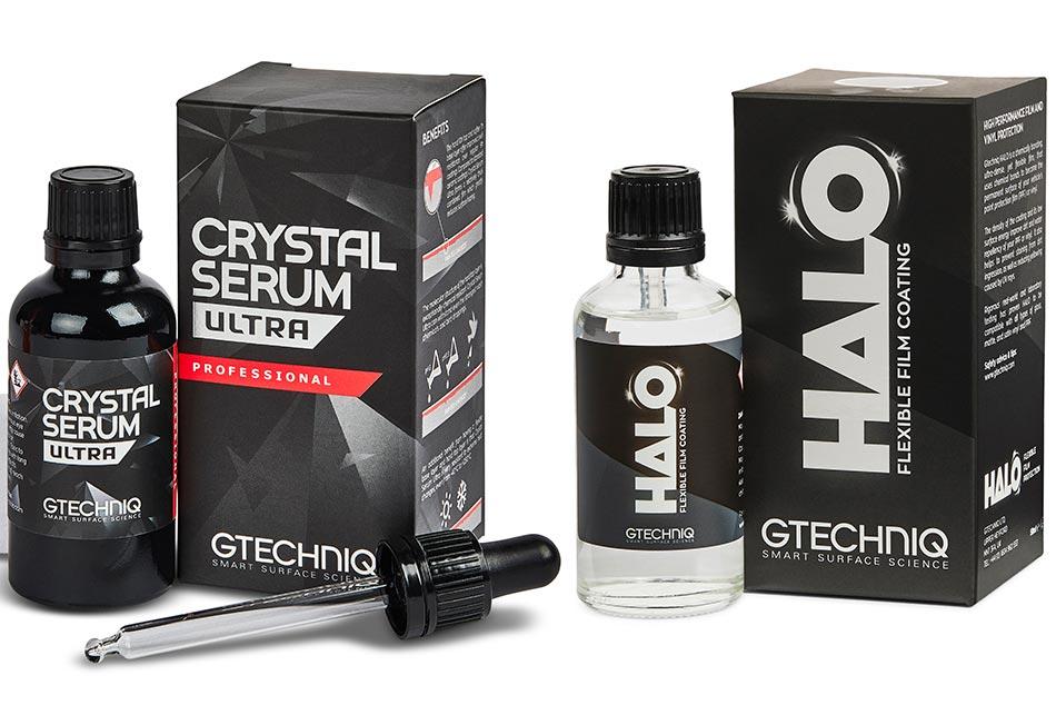A Gtechniq Crystal Serum és a Gtechniq Halo, két igazi sikertermék.