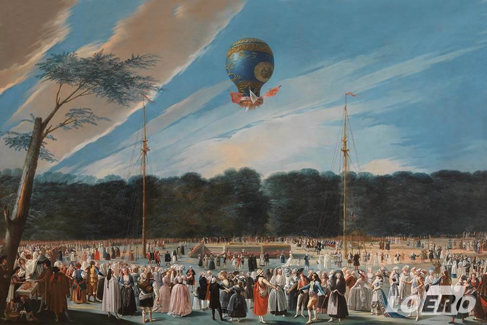 Bár a mai értelemben vett sétarepülés még csak ábránd volt, de a Montgolfier fivérek 1783-as kötött hőlégballon kísérlete, már akkor is fesztivál hangulatot idézett elő az emberek között.