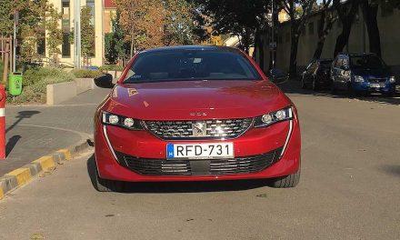 A szépségnek ára van – Peugeot 508 GT 1.6 kombi teszt