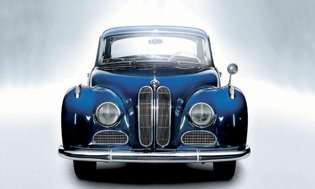 A Barokk Angyal 1952 – BMW 501