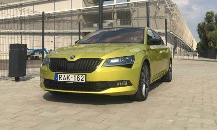Sárkányos színek – Skoda Superb Sportline 2.0 TDI teszt