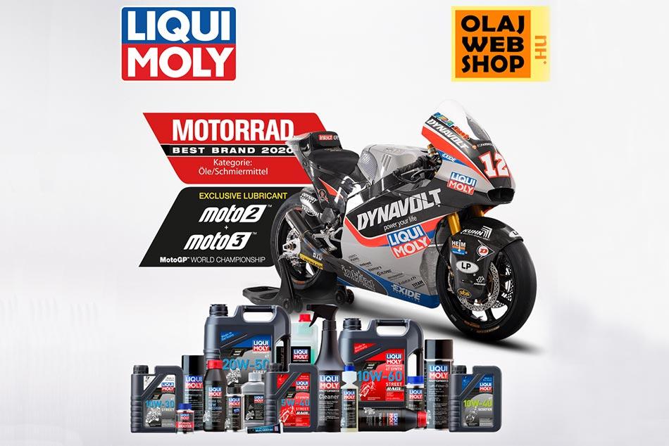 A Liqui Moly termékek ma már a motorosok számára is kiváló alternatívát jelentenek.
