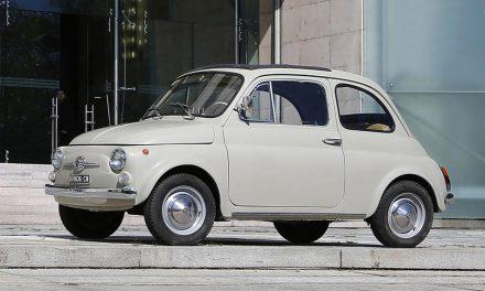 Miniatűr – Fiat Nouva 500 – 1957