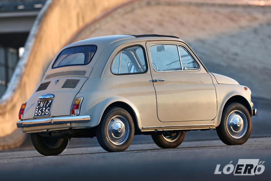 A Fiat 500 Nouva, amit tényleg nehéz nem szeretni...