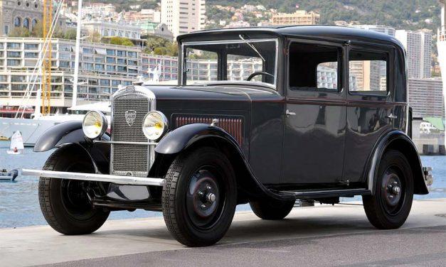 Peugeot 201 – A franciák misztikus számozása