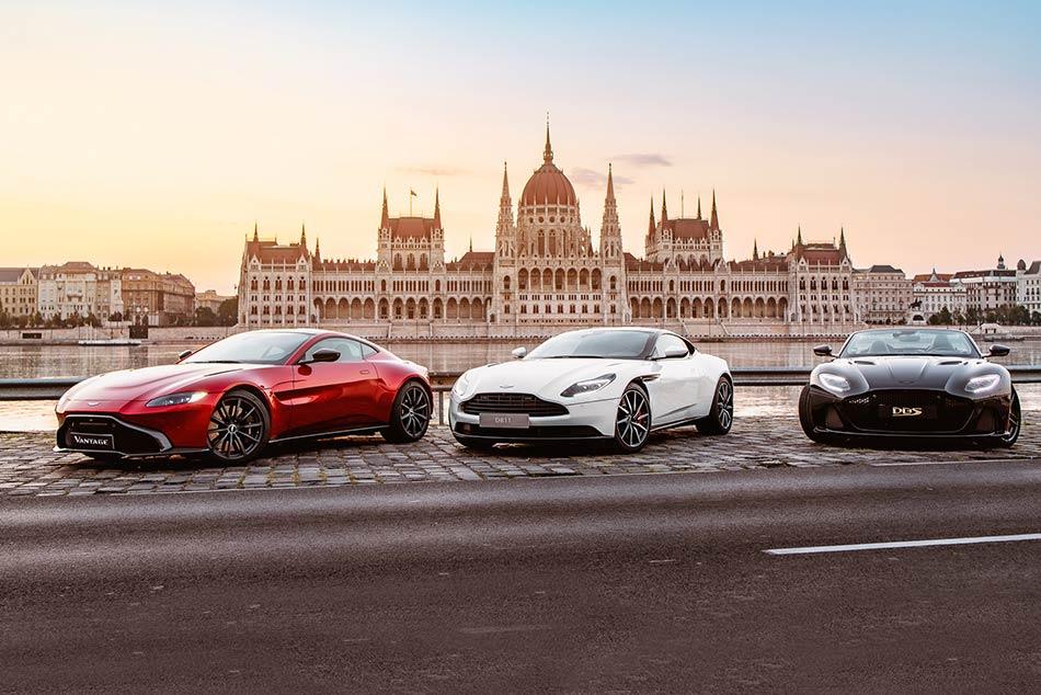 Aston Martin szalon budapest