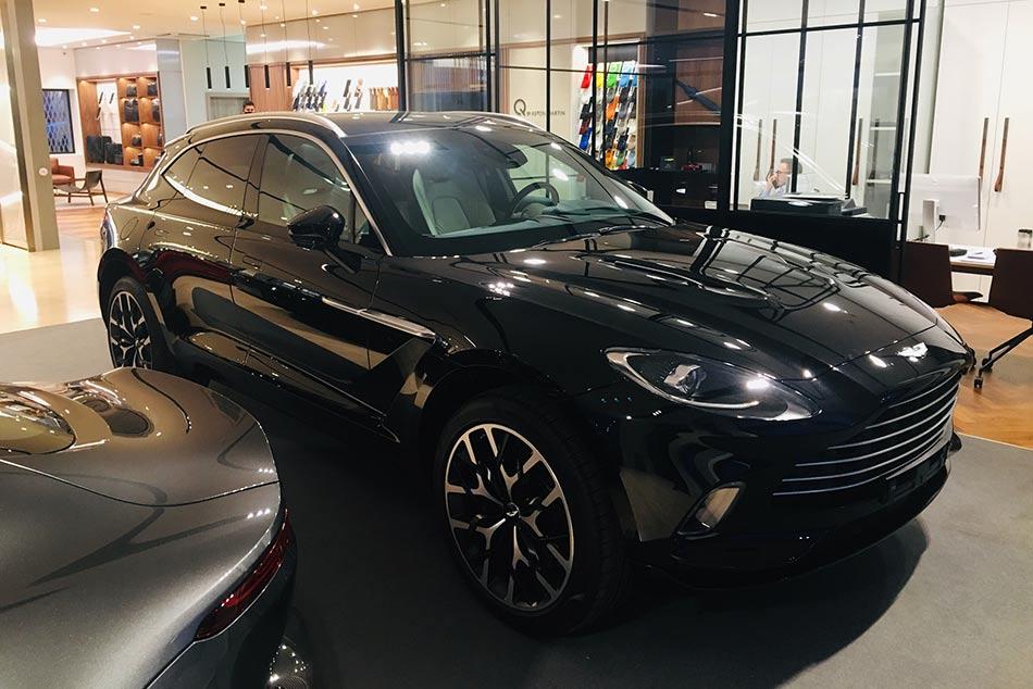 Aston Martin DBX, a márka első szabadidő-autója.