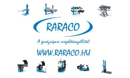 Raraco – A garázsipari megoldásszállító